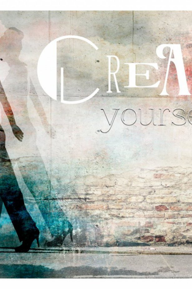 Ludzie Fototapeta - Create yourself