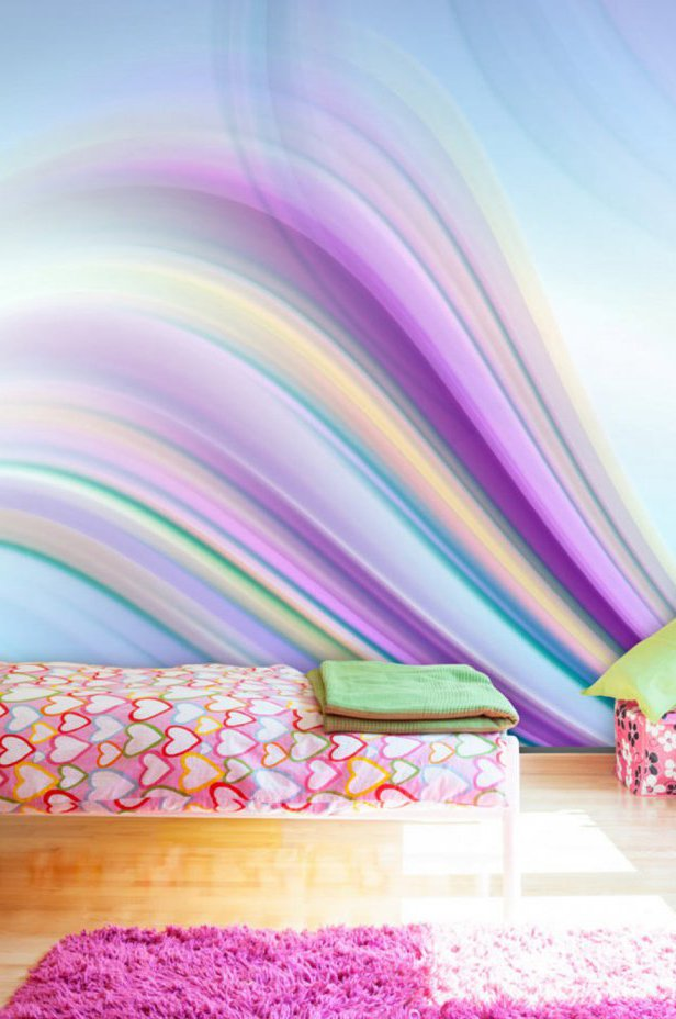 Fototapeta - Rainbow abstract background