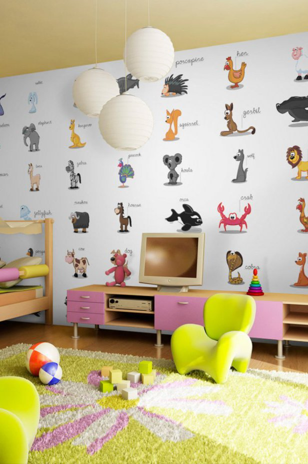 Fototapeta XXL - Learning by playing (animals)